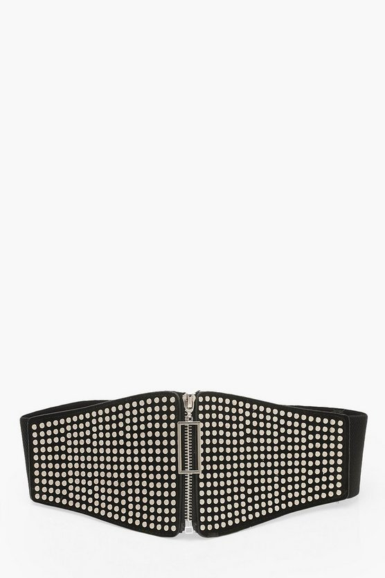 Studded Corset Waist Belt