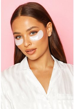 White Boohoo Plumping Gel Eye Patches