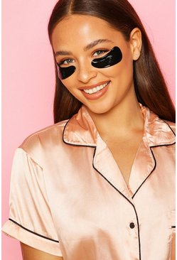 Womens Black Boohoo Rejuvenating Gel Eye Patches