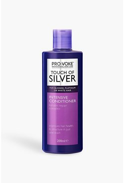 Womens Purple PRO:VOKE Touch Of Silver Conditioner 200ml