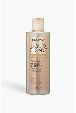 Womens Cream PRO:VOKE Liquid Blonde Infusion Shampoo 200ml