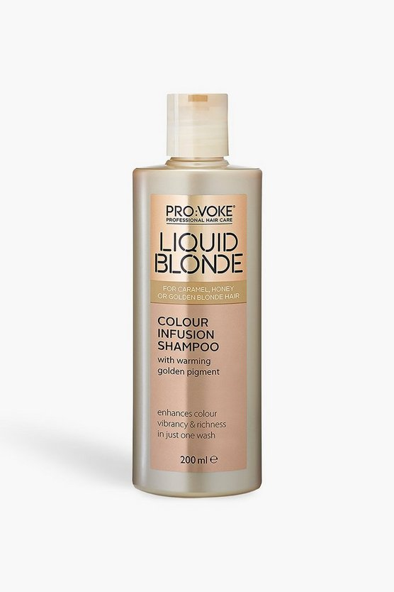 PRO:VOKE Liquid Blonde Infusion Shampoo 200ml