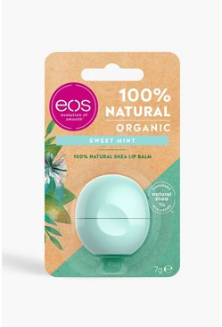 Womens EOS Organic Sweet Mint Lip Balm
