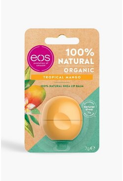 Womens Orange EOS Organic Tropical Mango Lip Balm