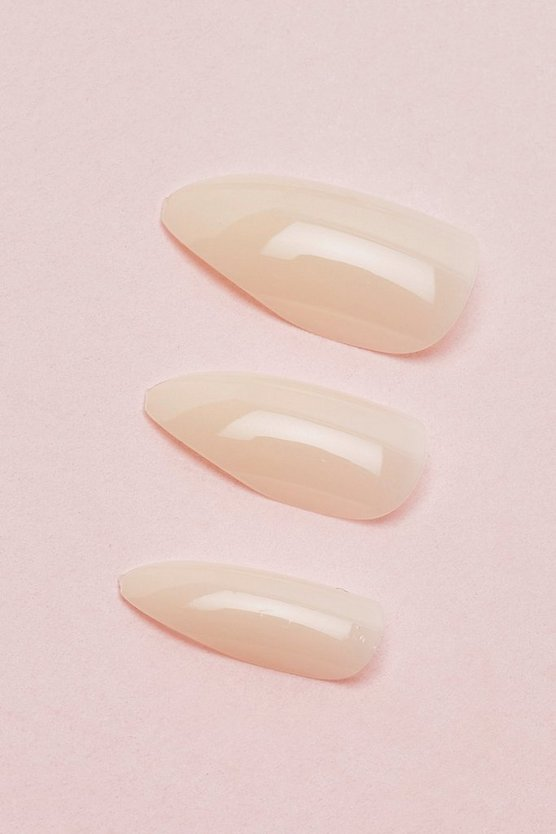 Nude False Nails Kit