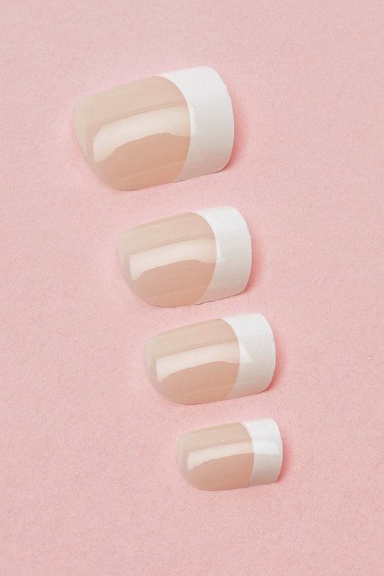 French Manicure False Nails Kit