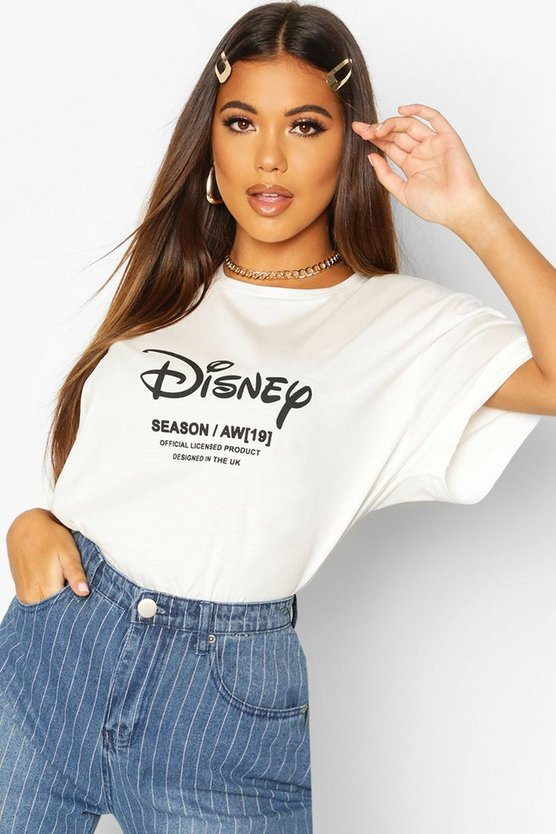 Disney Princess Ariel Back Print T-shirt