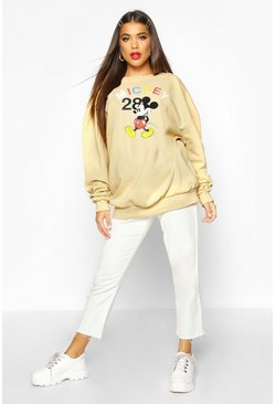 Dam Camel Disney Mickey Mouse Printed Sweat