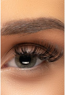 Womens Black Volumise False Eyelashes #42