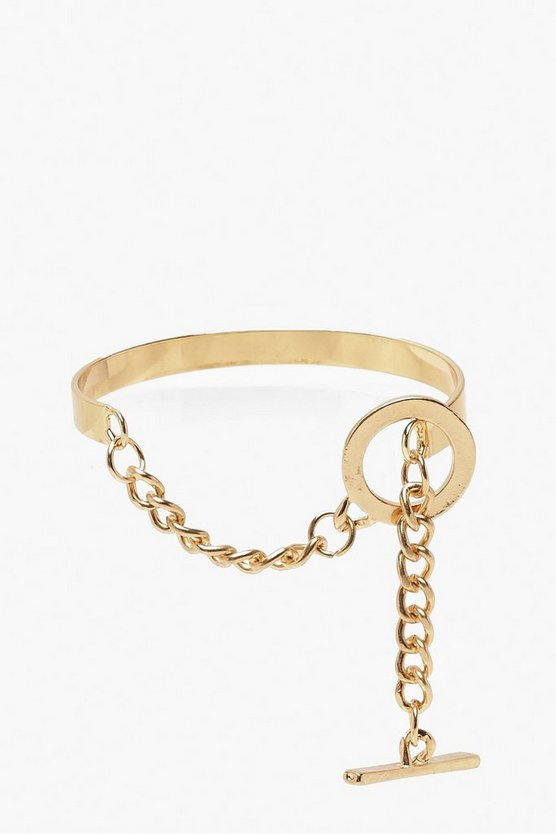 Hook & Bar Bangle