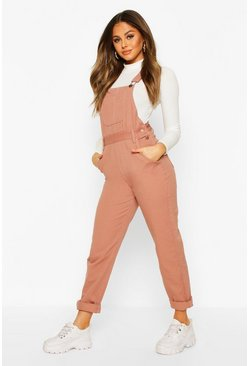 Dusky pink Denim Dungaree