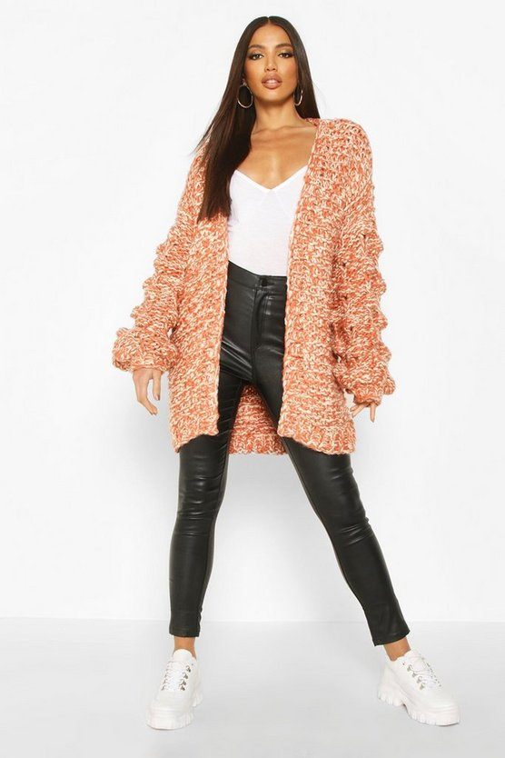 Premium Hand Knitted Chunky Cable Cardigan