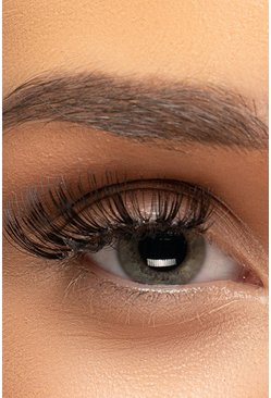 Womens Black Volumise False Eyelashes #62