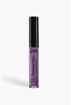 Блеск для губ Sleek Shattered Glass Lip Top - Usual Tricks, Purple