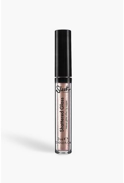 Блеск для губ Sleek Shattered Glass Lip Top - Bad Moon, Rose gold