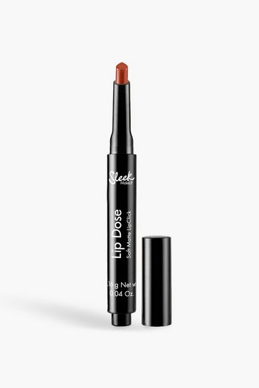 Womens Orange Sleek Soft Matte Lip Click - Outburst