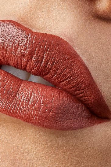 Womens Brown Sleek Soft Matte Lip Click - Controversy