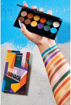 Sleek iDivine Eye Palette Colour Carnage, Multi