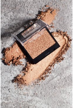 Womens Gold Sleek Single Eyeshadow - Never Learn