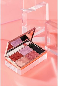 Sleek Highlighter Palette Love Shook 9g, Rose gold, Donna