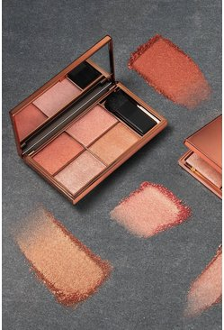 Womens Copper Sleek Highlighter Palette Copperplate 6g