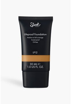 Base de maquillaje Sleek Lifeproof LP12 de 30 ml, Marrón tostado