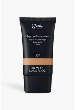 Sleek Lifeproof Foundation LP07 30ml, Cream, Donna