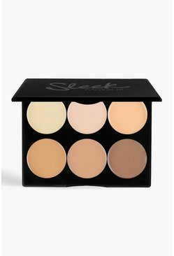 Sleek Cream Contour Kit Light 12g, Brown, Donna