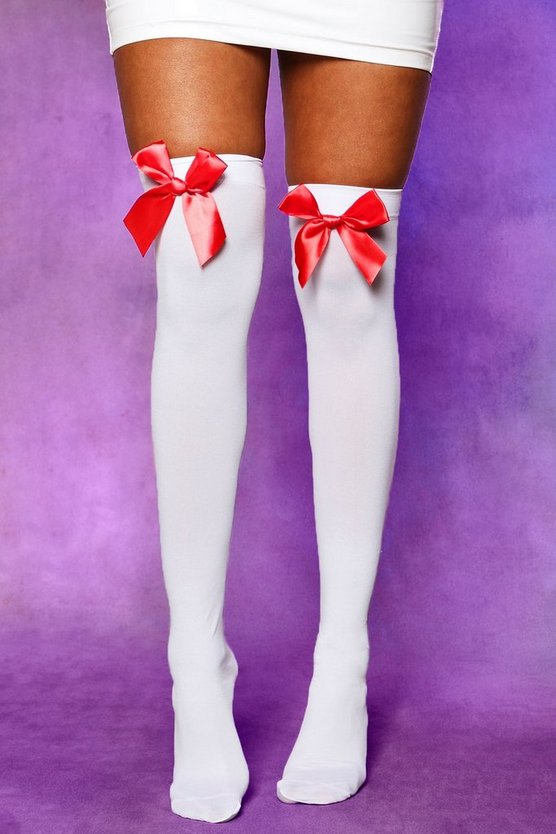 Halloween Stockings With Bow