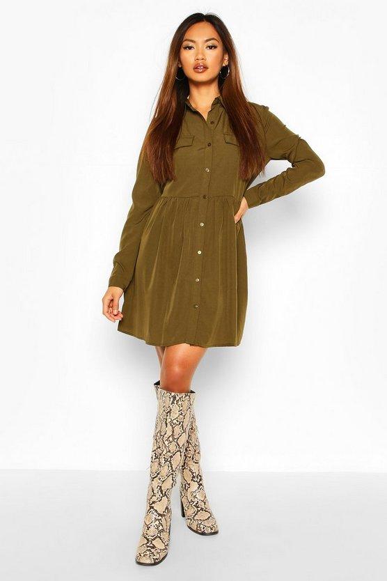 Shirt Smock Dress