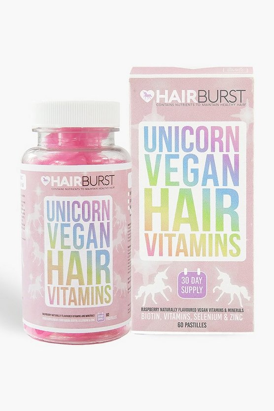 Hairburst Vegan Unicorn Hair Vitamins