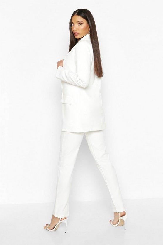 Split Front Tailored Trouser