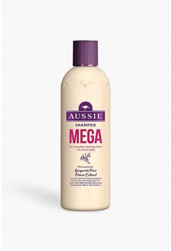 Womens Cream Aussie Mega Shampoo 300ml