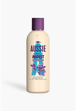 Womens Cream Aussie Miracle Moist Conditioner 250ml
