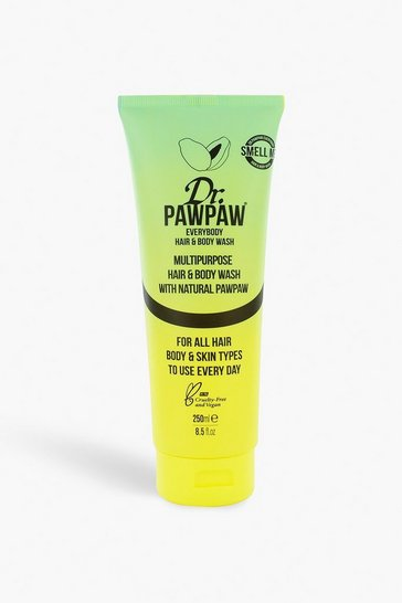 Womens Yellow Dr Paw Paw Hair & Body Wash 250ml