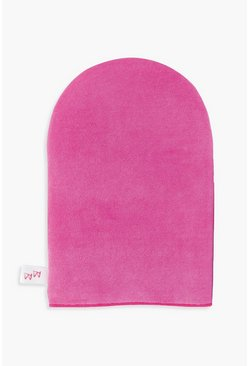 Womens Pink Fake Bake Professional Mitt