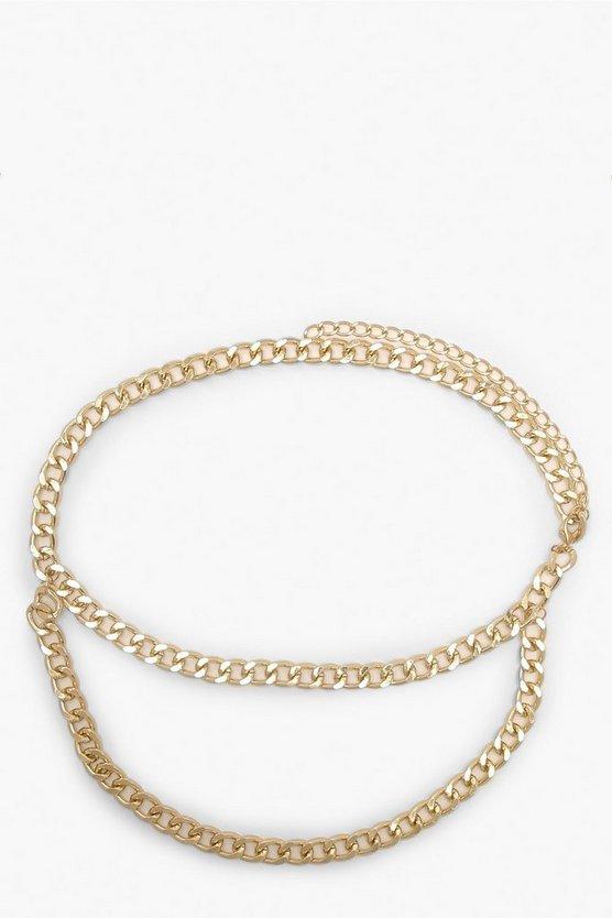 Double Chain Waist Belt