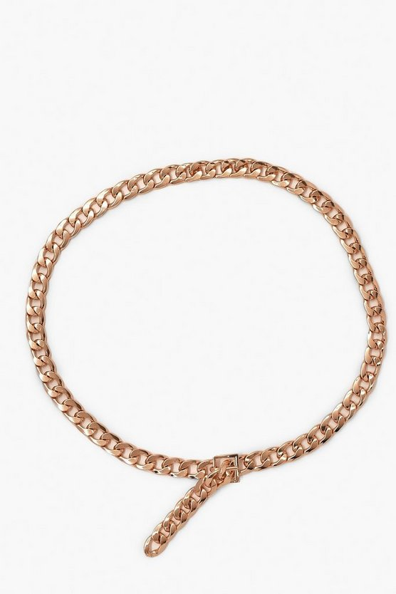 Chunky Chain Metal Waist Belt
