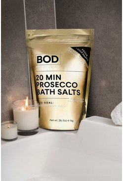 Womens Gold BOD Vegan Prosecco Bath Salts