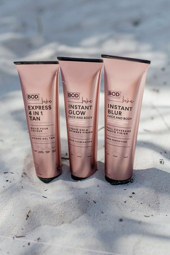 BOD Vegan Bake Express 4 In 1 Tan 150ml