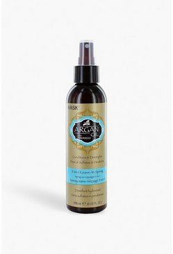 Womens Brown Hask Argan Oil 5 in 1 Leave In Spray