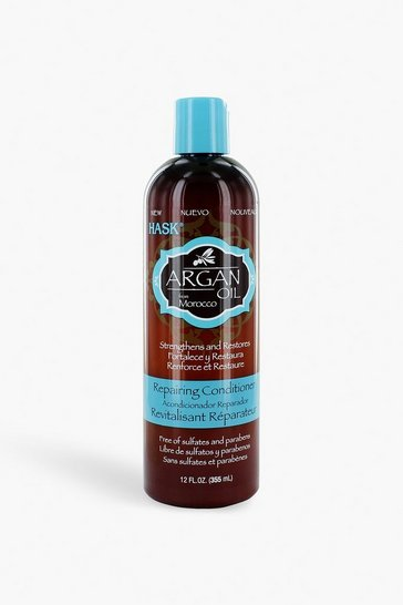 Womens Brown Hask Argan Oil Conditioner 355ml