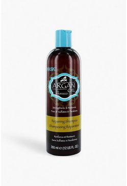 Womens Brown Hask Argan Oil Shampoo 355ml
