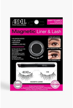 Womens Black Ardell Magnetic 110 Lash Kit