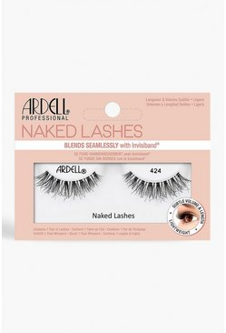 Womens Black Ardell Naked Lashes 424