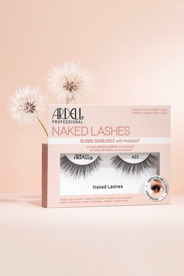 Womens Black Ardell Naked Lashes 423
