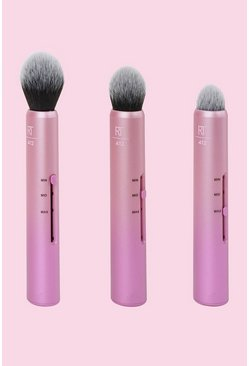 Womens Pink Real Techniques Custom Cheek Brushes