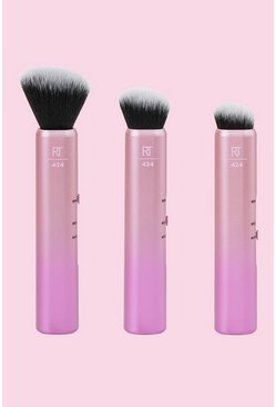 Dam Pink Real Techniques Custom Contour Brushes