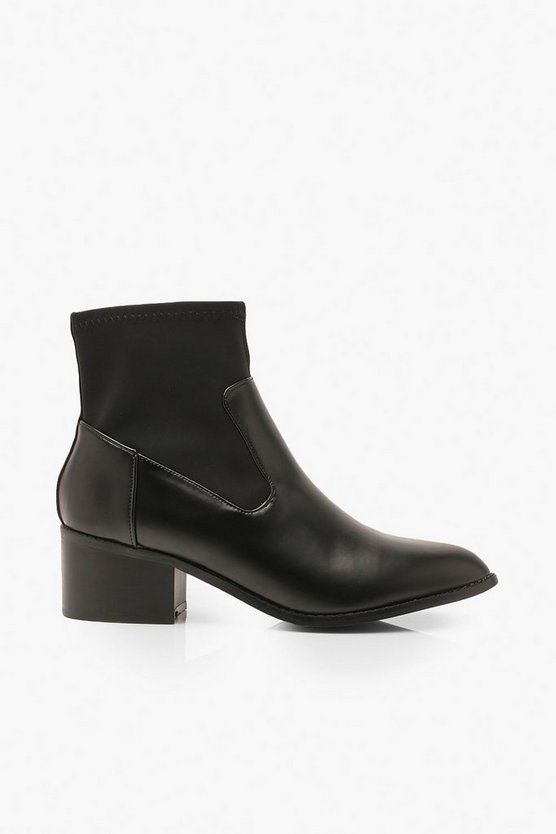 Sock Style Chelsea Boots