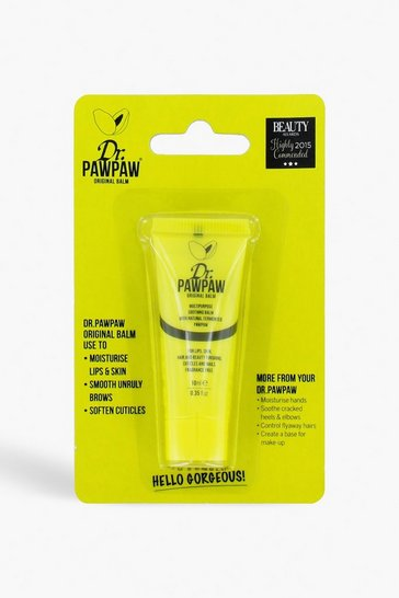 Womens Dr Paw Paw Yellow Lip Balm 10ml